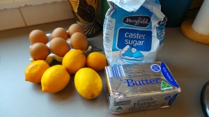 This is all you need to make Lemon Butter or Lemon Curd