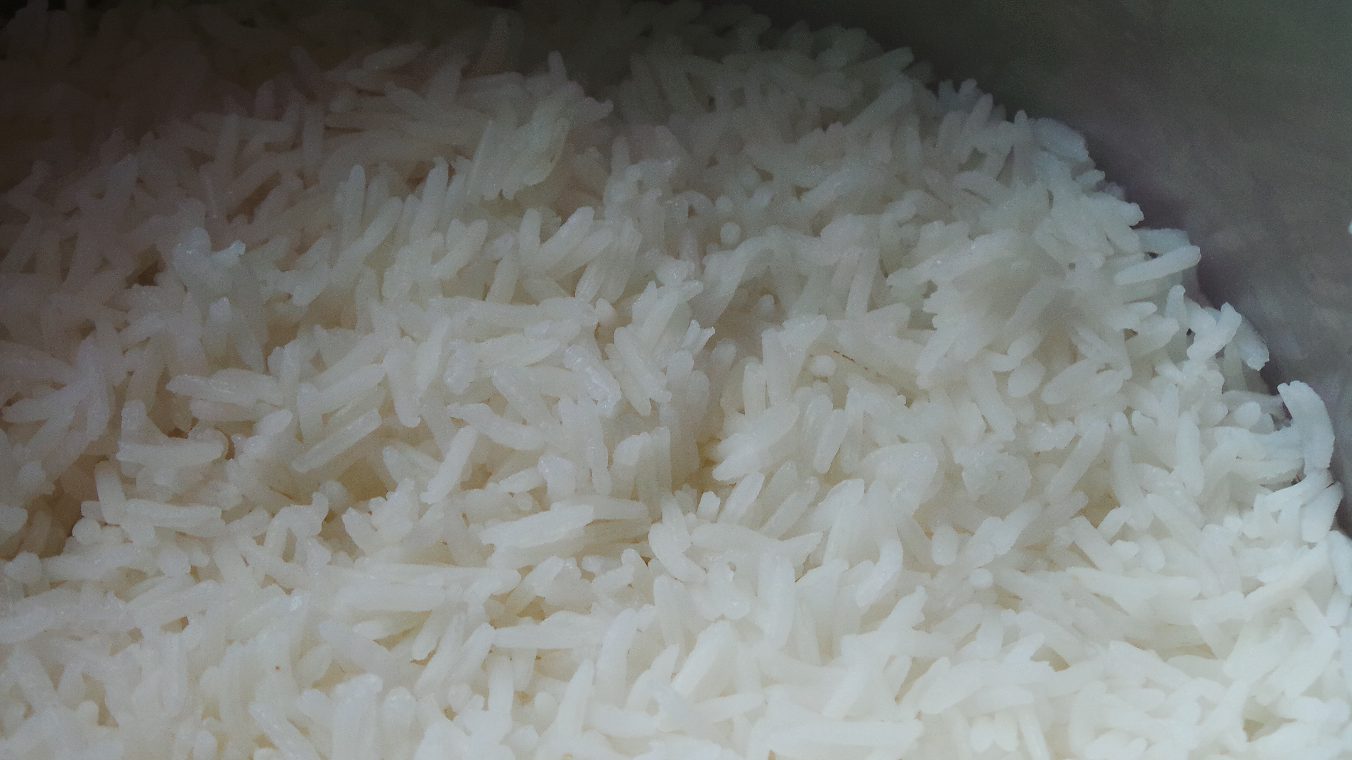 Perfectly Cooked Long Grain Rice  Without Using A Rice Cooker