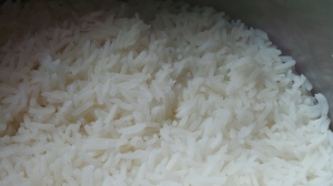 Perfectly cooked long grain rice  - without using a rice cooker.