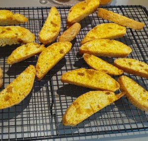 Orange Ginger Biscotti