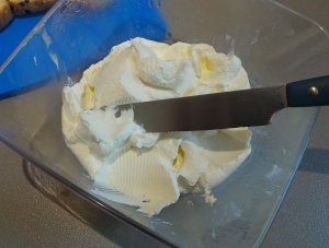 Yoghurt cream cheese