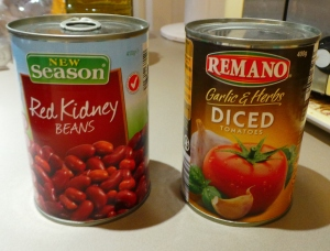 Don't be afraid of canned food.