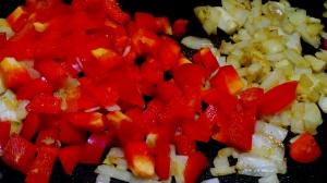 Start with your fresh vegies