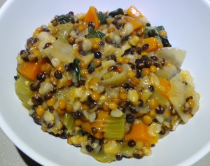 Barley and Lentil Casserole