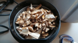 Dried Mushrooms.