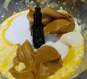 Yes, you can lick the spoon when you add the PB.