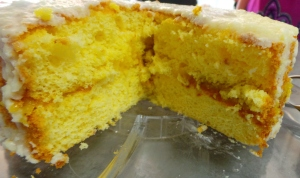 Luscious Lemon Sponge.