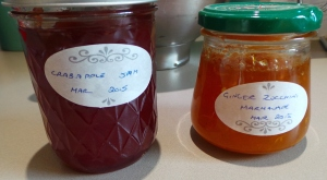 Home made jams