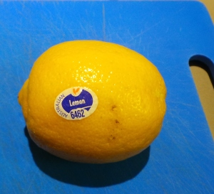 This is a lemon.