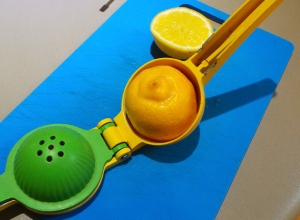 This citrus squeezer is one of my favourite gadgets.